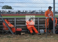 Marshals take a break
